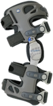 The lightweight and universal OA brace has multiple points of leverage for reducing pressure