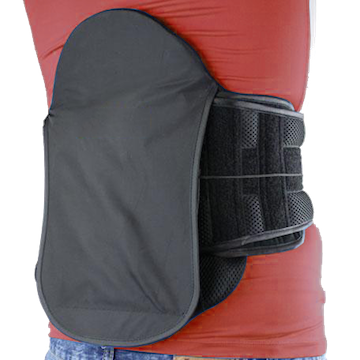 It has a sturdy 15 inch posterior panel helps prevent any abnormal movements of the lower spine