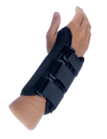 This universal wrist brace has universal sizing which allows it to fit a wide variety of patients